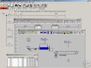 PLC Simulator ladder logic training electrical control