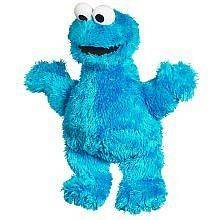 Licensed Sesame Street 9  Cookie Monster Plush for 12 Month Plus