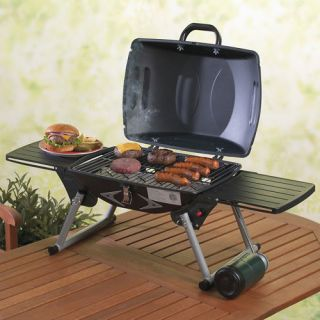 Portable Tabletop Propane Gas BBQ Cooking Grill Tailgate Camping Stove