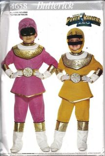power ranger costume pattern in Crafts