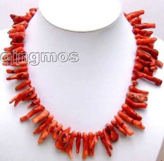 red coral branch necklace in Jewelry & Watches