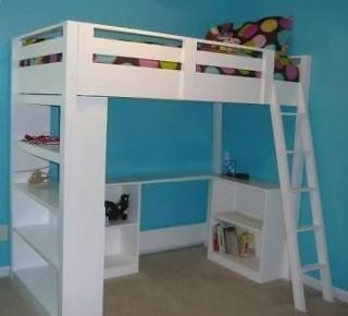 free build your own loft bed plans | Moondel Woodplan