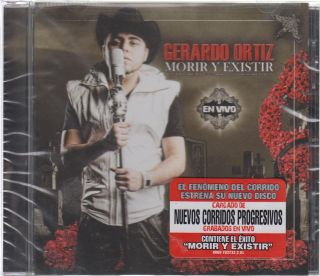 Gerardo Ortiz CD NEW Morir Y Exsistir En Vivo Movimiento Alterado
