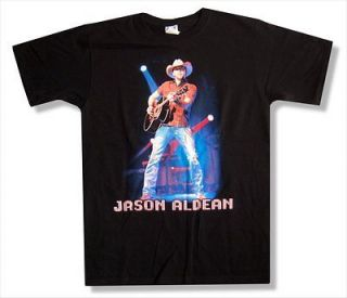JASON ALDEAN   LIVE TOUR 2010 WHEELING T SHIRT   NEW ADULT X LARGE