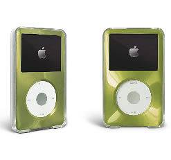 Green Apple iPod Classic Hard Case Cover 7th gen 160gb / 6th 80gb