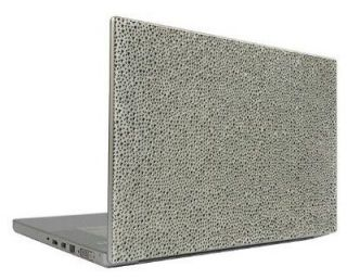 Silver 10 Crystal Rhinestone Bling Laptop Sticker Sheet Cover Skin