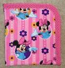 CRADLE/RECEIVING BLANKET  MINNIE MOUSE & MICKEY MOUSE   2 COLORS