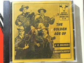 MAINERS MOUNTAINEERS  THE GOLDEN AGE OF  WESTERN SWING COUNTRY