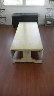Vintage Chris Craft Convertible Drop Leaf Coffee/Dining Table