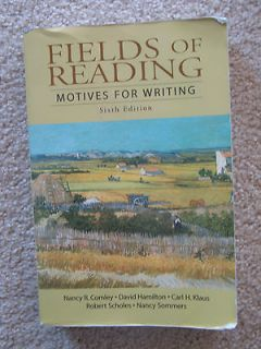 Fields of Reading Motives for Writing by Carl H. Klaus, David