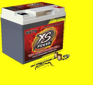 XS Power Deep Cycle 12 Volt 12V AGM Power Cell Battery S1200 Brand New