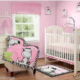 Baby Boom Jungle Friends Crib Bedding Set