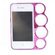 Of The Rings knuckles case cover Skin for Iphone 4/4s/4G Rose Creative
