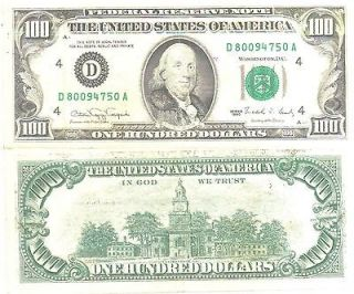 Security Features On A 1950 20 Dollar Bill