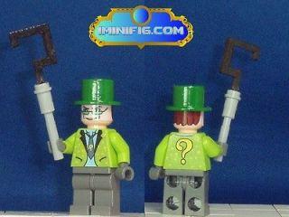 Newly listed Custom LEGO minifig Batman Arkham City Riddler #17dC