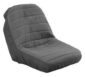 New BLACK SEAT COVER for Riding Lawn Mowers / Garden Tractors WATER