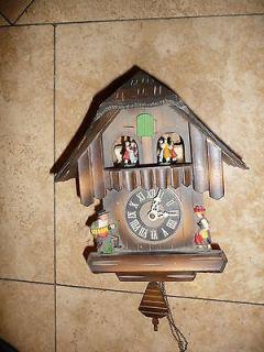 antique german cuckoo clock in Clocks