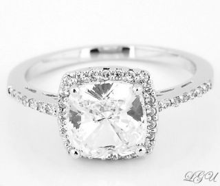 cushion cut ring, Engagement & Wedding