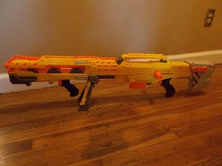 Longshot CS 6 Nerf 2 piece bolt action rifle+ pistol Gun HTF Rare