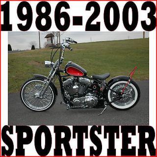 RIGID BOBBER ROLLING CHASSIS FRAME FITS1986 2003 HARLEY SPORTSTER