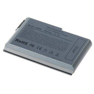 5200mAh Battery for Dell Latitude D500 D505 D510 D520 D530 D600 D610