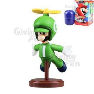 2012 Super Mario Bros Propeller Luigi Action Figure Toy Wii vol 3