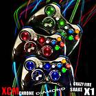 XCM Wireless Controller Shell X1 for Xbox 360 Chrome Rapid Fire Full