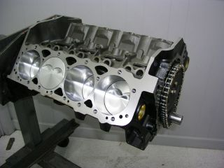SBC 434 DART ASSEMBLED SHORT BLOCK 4 BOLT SPLAYED WITH 4340