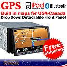 G2216U Eonon 7 HD LCD TV Monitor 2Din In Dash Car FM GPS DVD Player