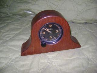 World War II 2 Era Elgin Military Aircraft Clock  8 Day Clock w