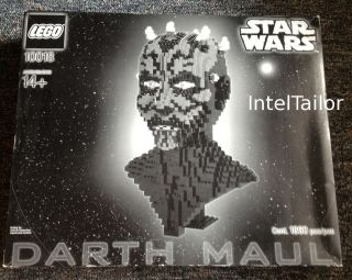 LEGO Star Wars   Darth Maul Bust 10018 New/Sealed   Worldwide   See