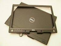 Dell Latitude XT LCD Back Cover WY948 Bezel YR364 Black Grade A – No