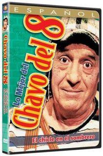 Lo Mejor del Chavo del 8 DVD NEW El Chicle En El Sombrero Factory