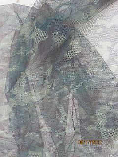 US MILIARY CAMO NE FABRIC DEER BLIND NEING 5X8 ISSUE