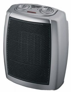 DeLonghi DCH1030 Ceramic Heater with Adjustable Thermostat NEW
