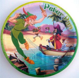 NEW* PETER PAN * 18 cake dessert plates PARTY