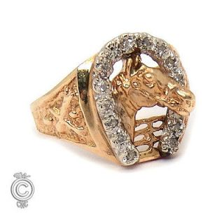 vintage horseshoe ring in Vintage & Antique Jewelry