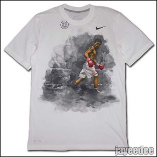 NIKE MANNY PACQUIAO DESTROYER BOXING SHIRT WHITE 1.3 breathe S M L XL