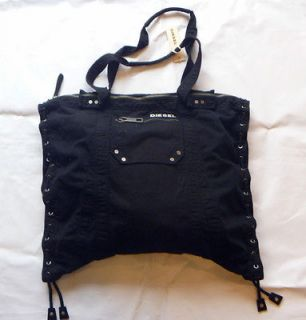 DIESEL Women Black X Ray Invite Shoulder Bag Handbag NwT
