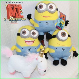 Despicable Me Minion Unicorn 4X Collectible Plush Toy Stuffed Animal 9
