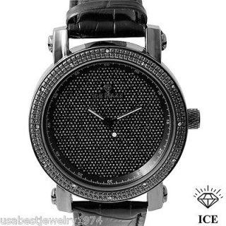 ICE MAXX NATURAL DIAMOND QUARTZ MOVEMENT WATCH RETAIL $699.00 WITH