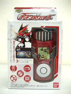DIGIMON DIGITAL MONSTER BANDAI XROS LOADER RED COLOR DIGIVICE DATA