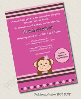 Baby Shower Invitations ONLY $33 Invitation girl boy neutral zoo