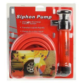 Siphon Pump Kit Transfer Oil / Air / Water / Fuel / Diesel hand Syphon
