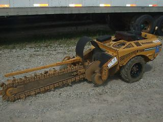 VERMEER RT 200 WALK BEHIND TRENCHER! 223 HRS! 5 FT BAR! 23 HP KOHLER