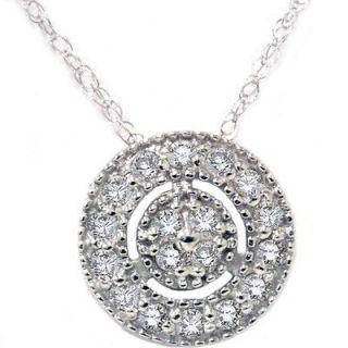 white gold diamond necklace in Diamond