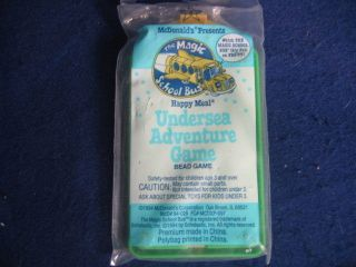 MCDONALDS HAPPY MEAL TOY UNDERSEA ADVENTURE GAME UNOPENED