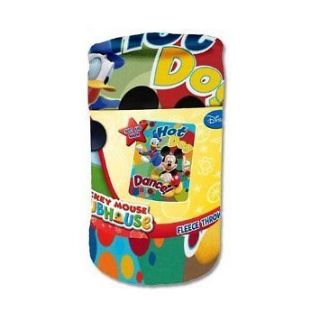 DISNEY MICKEY MOUSE KID FLEECE BLANKET 45X60 w/Printed Wrap