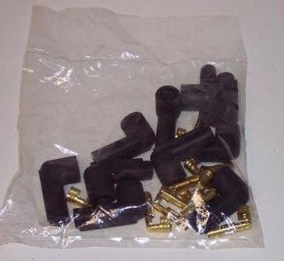 8mm Accel Points Distributor Boots/Terminals (8) NEW