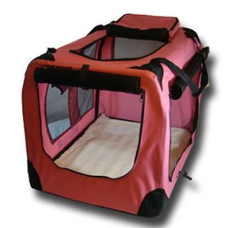 Portable Pet Dog House Soft Crate Carrier Cage Kennel 30  Inch Medium